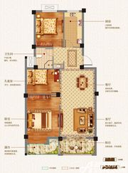志城江山郡H21#C户型3室2厅93.94㎡