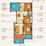 志城江山郡T1#/T2#楼户型F23室2厅100.65㎡