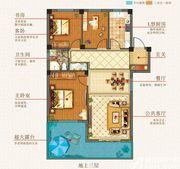 志城江山郡T1#/T2#楼户型G33室2厅97.07㎡