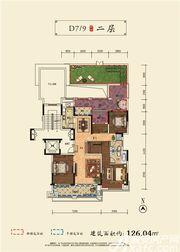 和顺沁园春D7 93室2厅126.04㎡