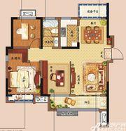东方樾府A2户型3室2厅101㎡