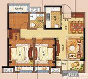 东方樾府A3户型3室2厅89㎡