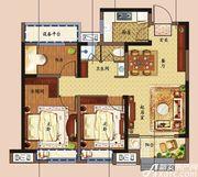 东方樾府B2户型3室2厅92㎡