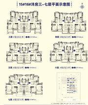 淮北恒大御景湾15、16#洋房3-7层3室2厅114.97㎡