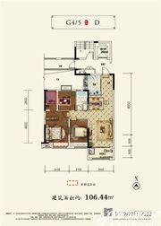 和顺沁园春D22室2厅106.44㎡