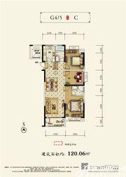 和顺沁园春C2室2厅120.06㎡