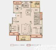 祥生宛陵新语B2—1户型4室2厅117㎡