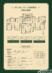 淮北恒大中央公园A4室2厅136.42㎡