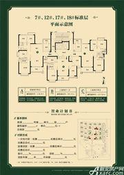 淮北恒大中央公园B3室2厅99.15㎡