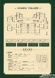 淮北恒大中央公园D3室2厅101.77㎡