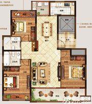 美好锦城C13室2厅125㎡