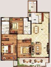美好锦城A13室2厅112㎡