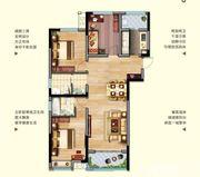 中航长江广场10#楼125平米户型3室2厅125㎡