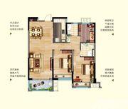 中航长江广场10#楼114平米户型3室2厅114㎡
