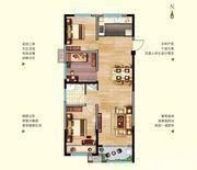 中航长江广场11#楼A户型3室2厅100.23㎡