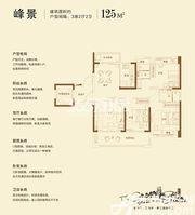 碧桂园·黄金时代峰景3室2厅130㎡