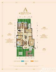 绿地迎宾城洋房A4室2厅137.76㎡