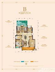 绿地迎宾城洋房B4室2厅133.74㎡