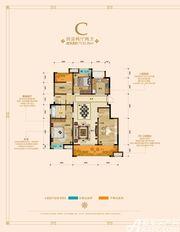 绿地迎宾城洋房C4室2厅131.26㎡