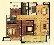 远大中国府玖珑府D2户型3室2厅107.43㎡