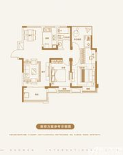 宝湾国际城宝湾国际城4室2厅100㎡