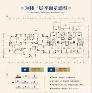 顺达金水湾7#1层4室2厅145㎡