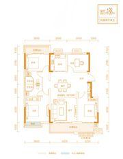 金科庐州樾Aa4室2厅138㎡