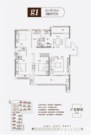 聚诚雍德府g13室2厅119.31㎡