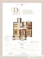 融信海亮江湾城D3室2厅105.2㎡