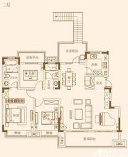 融侨观澜洋房二层4室2厅135㎡