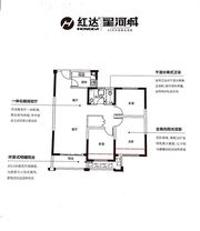 红达星河城D3室2厅110㎡