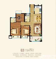 粤泰天鹅湾G3户型3室2厅90.31㎡