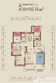 文一豪门金地52#143㎡4室2厅143㎡