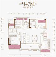 文一豪门金地5层洋房147㎡4室2厅147㎡