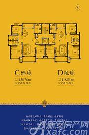 砀山古城C臻境3室2厅125.76㎡
