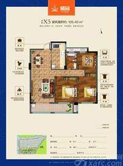 联佳爱这城X53室2厅105.4㎡