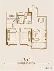 贡院C1户型2室2厅89㎡