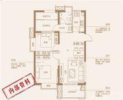 中国铁建清溪国际璟园B1户型2室2厅90.91㎡