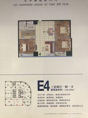 金利国际城E43室2厅126.83㎡