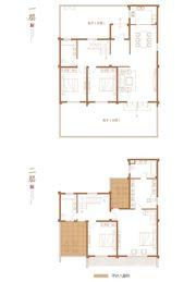华邦敬亭山君和院A1-25室4厅196.21㎡