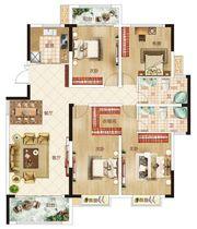 温州商贸城B户型4室2厅150㎡