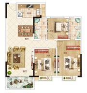 温州商贸城D户型3室2厅125㎡