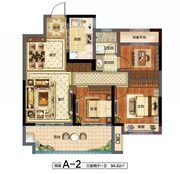花语江南天境3室2厅94.62㎡
