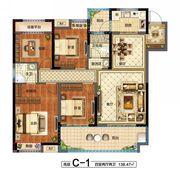 花语江南天宸4室2厅138.47㎡