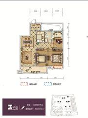 和顺东方花园B23室2厅103.46㎡