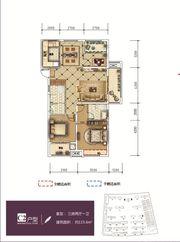 和顺东方花园C23室2厅115.6㎡