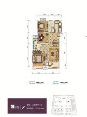 和顺东方花园C3室2厅102.06㎡