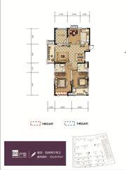 和顺东方花园D14室2厅120.93㎡