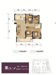 和顺东方花园E14室2厅127.72㎡