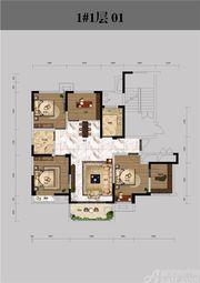 恒馨印象1#1层013室2厅126.32㎡